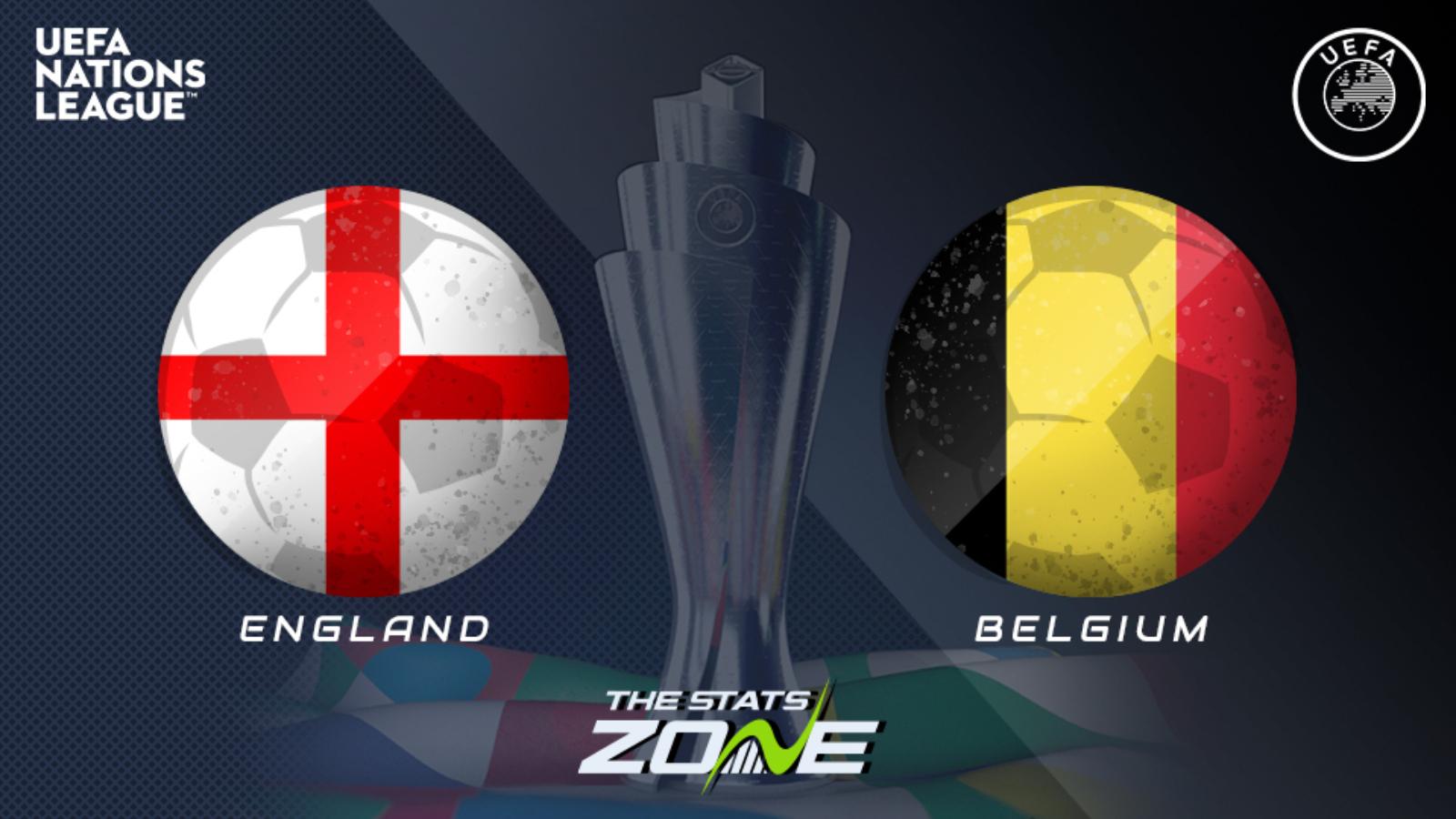 2020-21 UEFA Nations League - England vs Belgium Preview ...