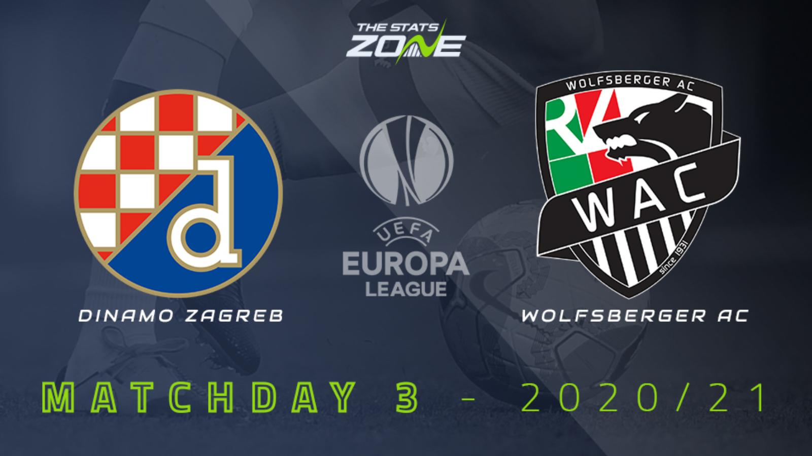 2020 21 Uefa Europa League Dinamo Zagreb Vs Wolfsberger Ac Preview Prediction The Stats Zone