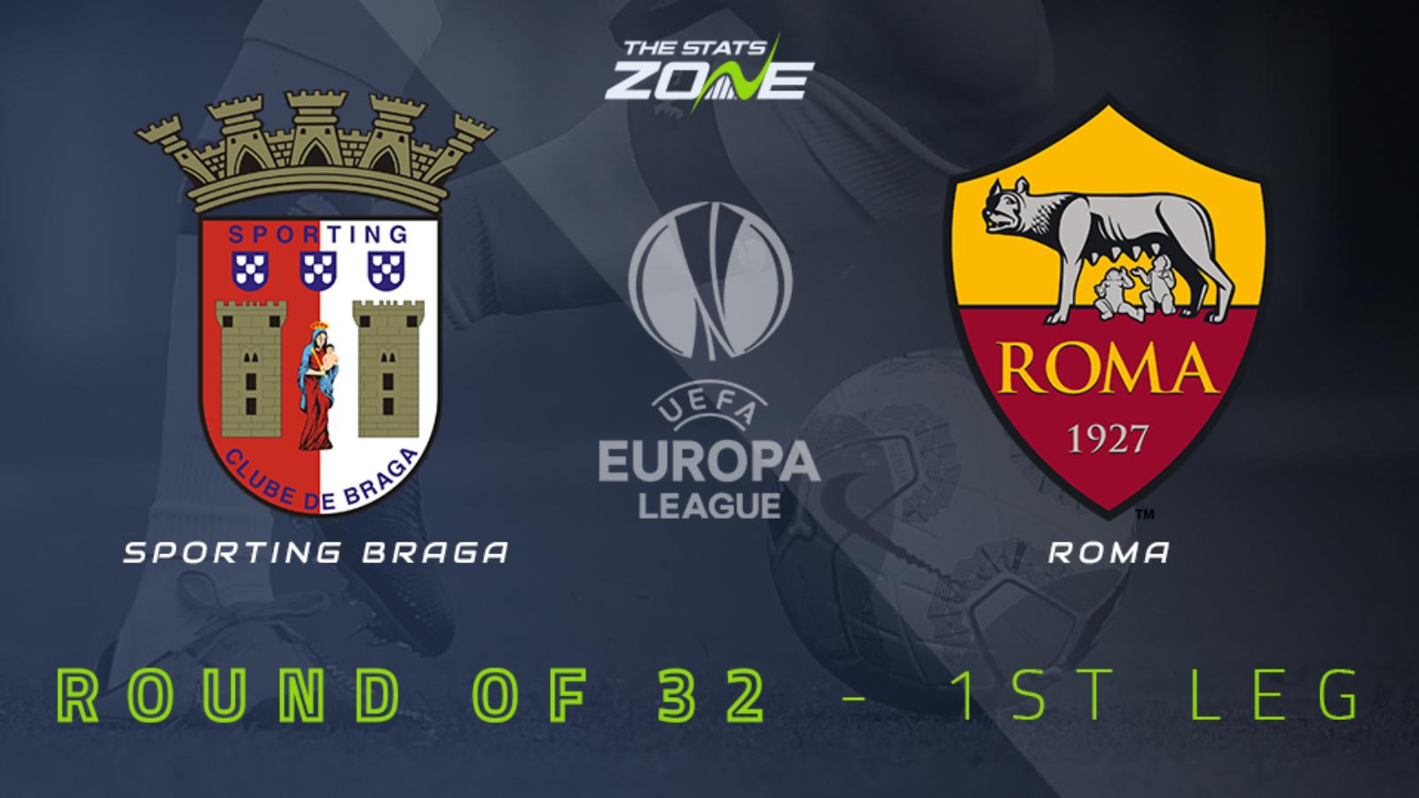 2020-21 UEFA Europa League – Sporting Braga vs Roma Preview & Prediction -  The Stats Zone