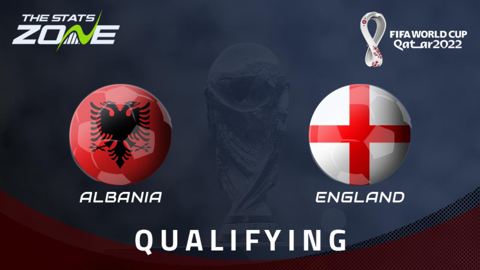 Albania vs England Full Match – WC Qualification Europe