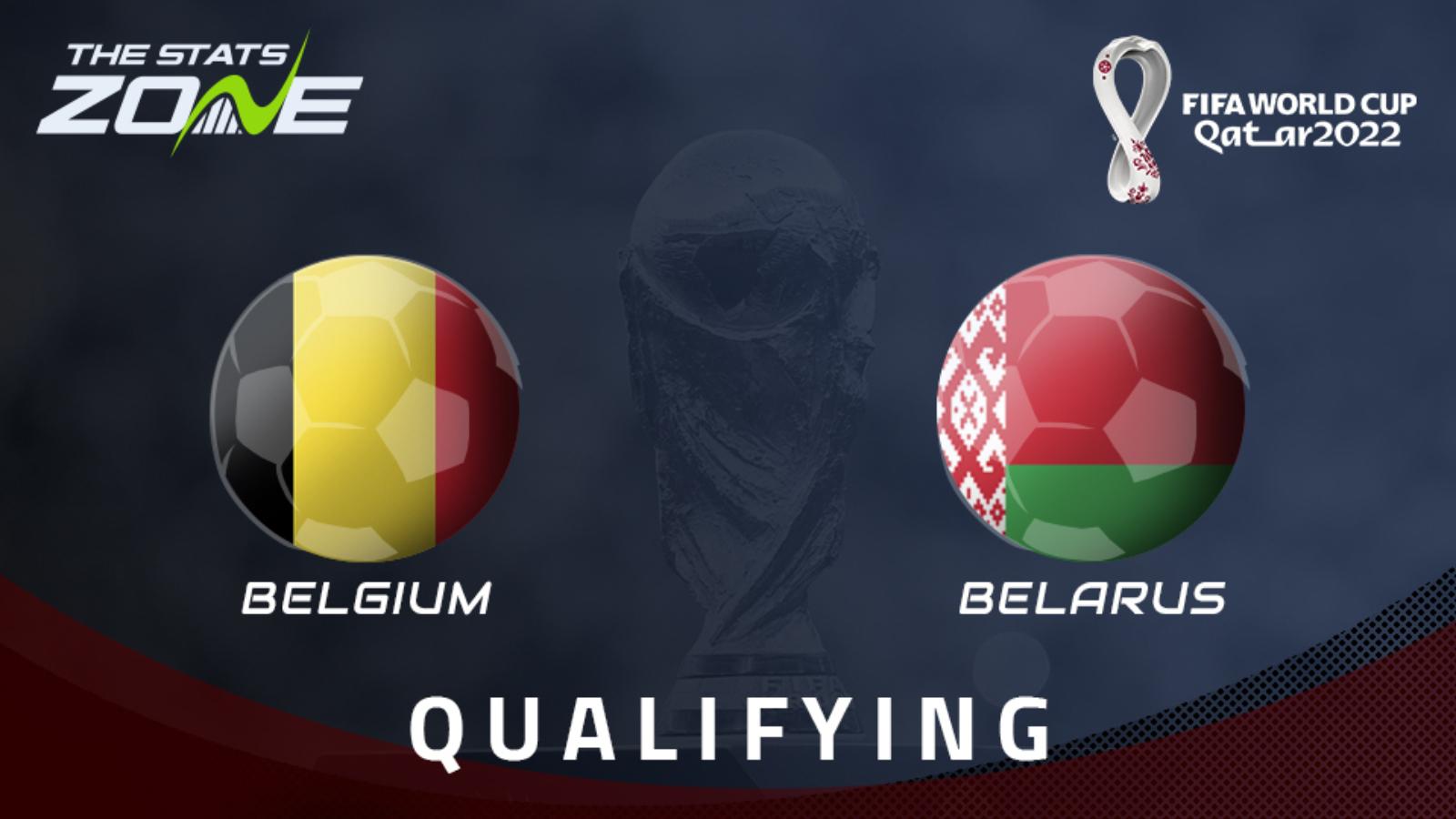 Belgium vs Belarus Full Match – WC Qualification Europe