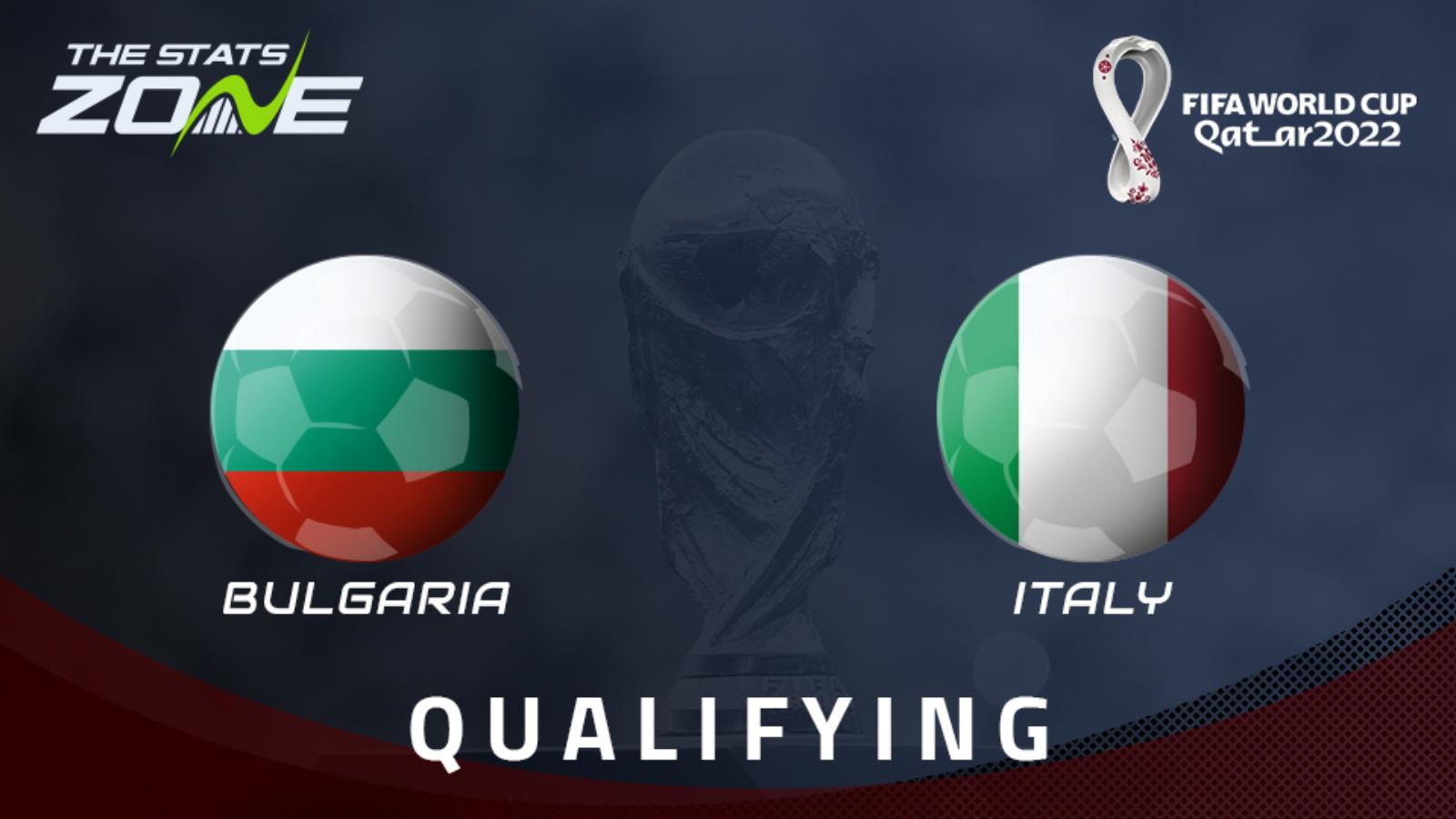 Bulgaria vs Italy Full Match – WC Qualification Europe