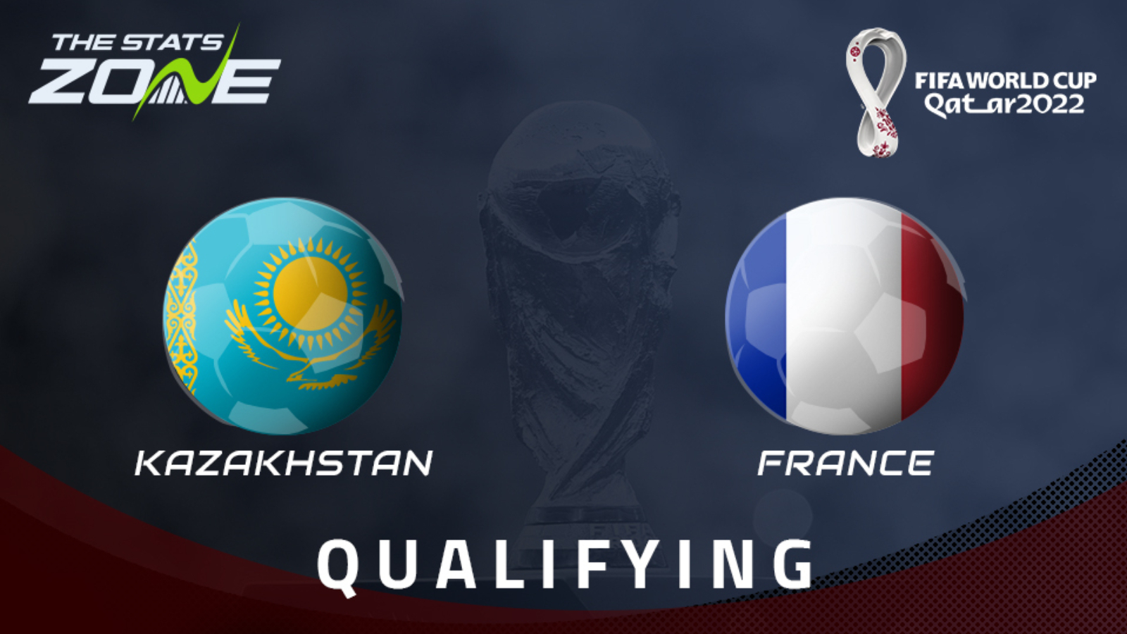 Kazakhstan vs France Full Match – WC Qualification Europe