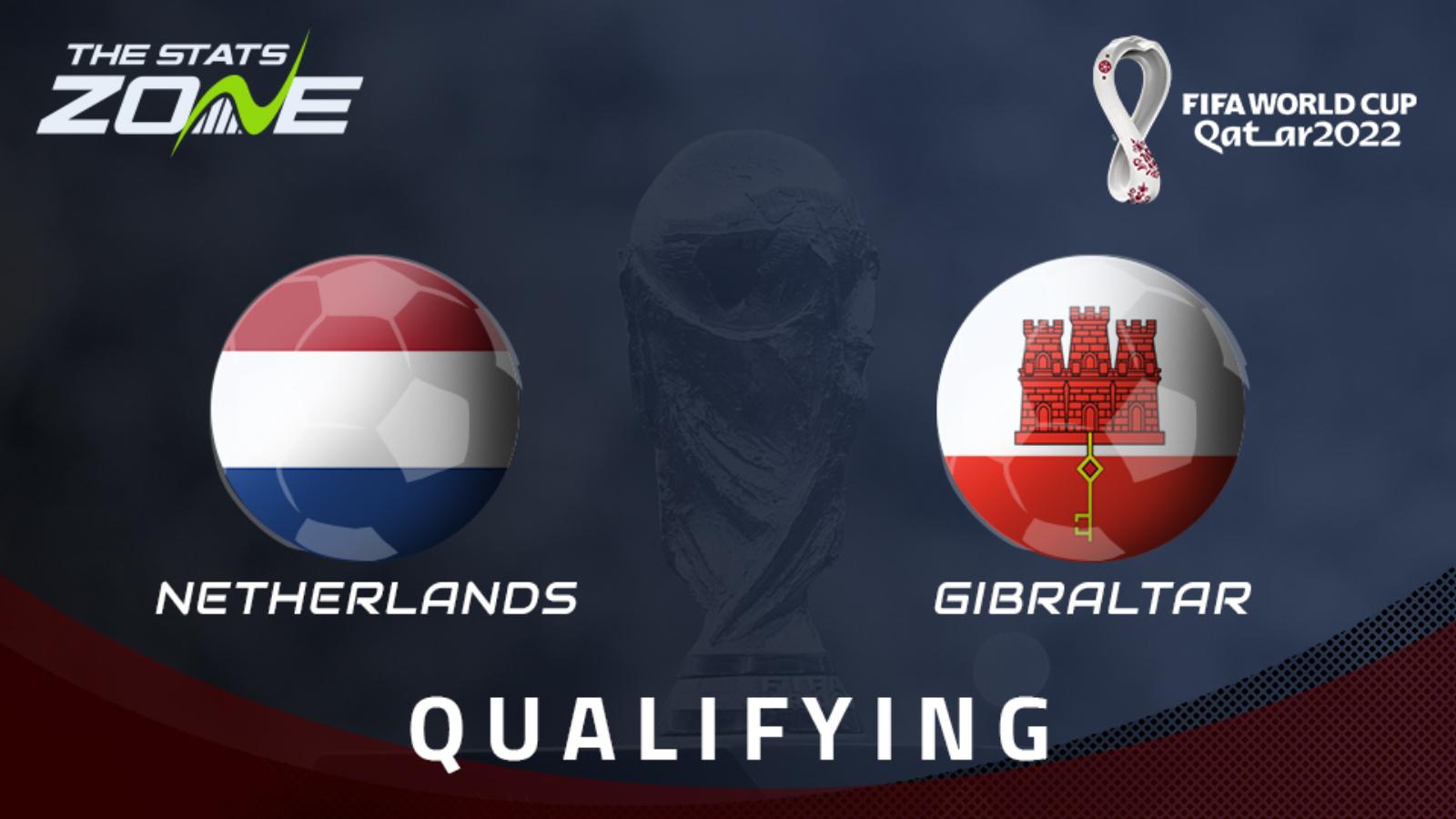 Netherlands vs Gibraltar Highlights 11 October 2021