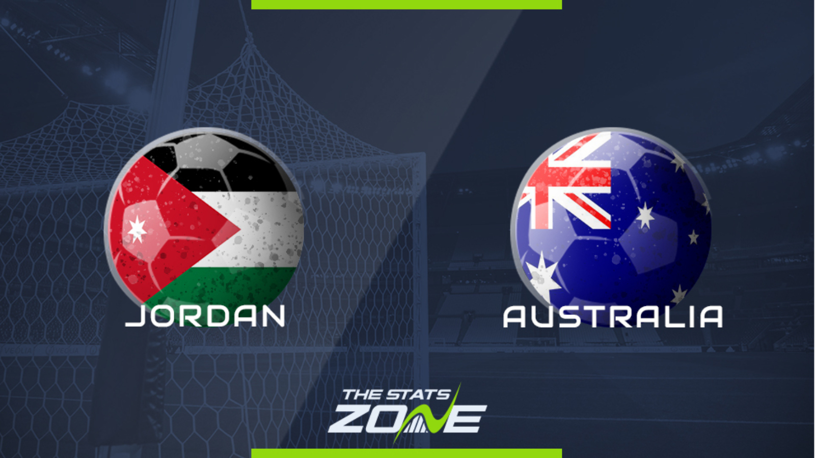 World Cup 2022 – AFC Asian Qualifying – Jordan vs Australia ...