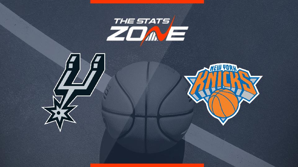 Nba Basketball New York Knicks: New York Knicks @ San Antonio Spurs Preview